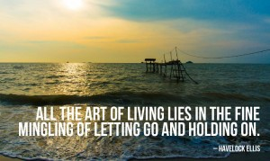 Letting Go and Holding On Photo